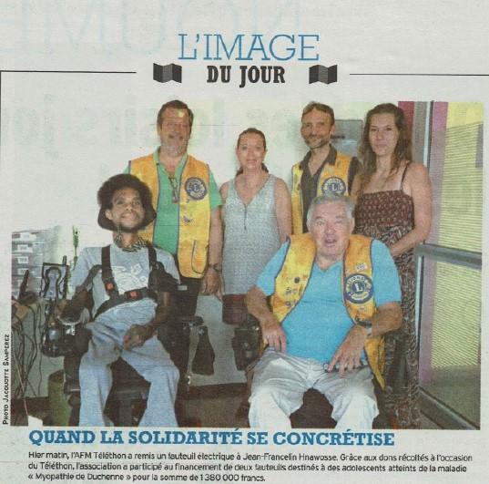 Article Fauteuil LNC